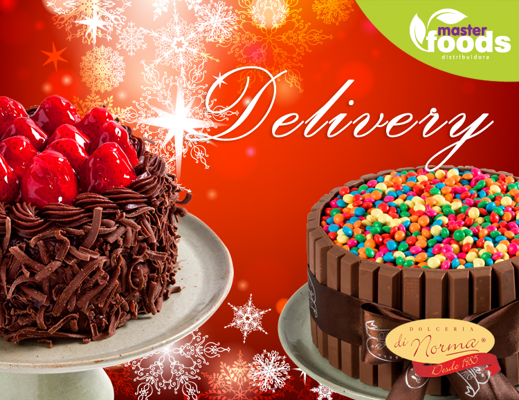 Especial de Natal - Delivery Tortas e Bolos - Di norma