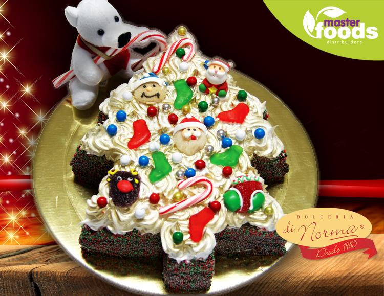 Hoje eu vou de bolo especial de natal
