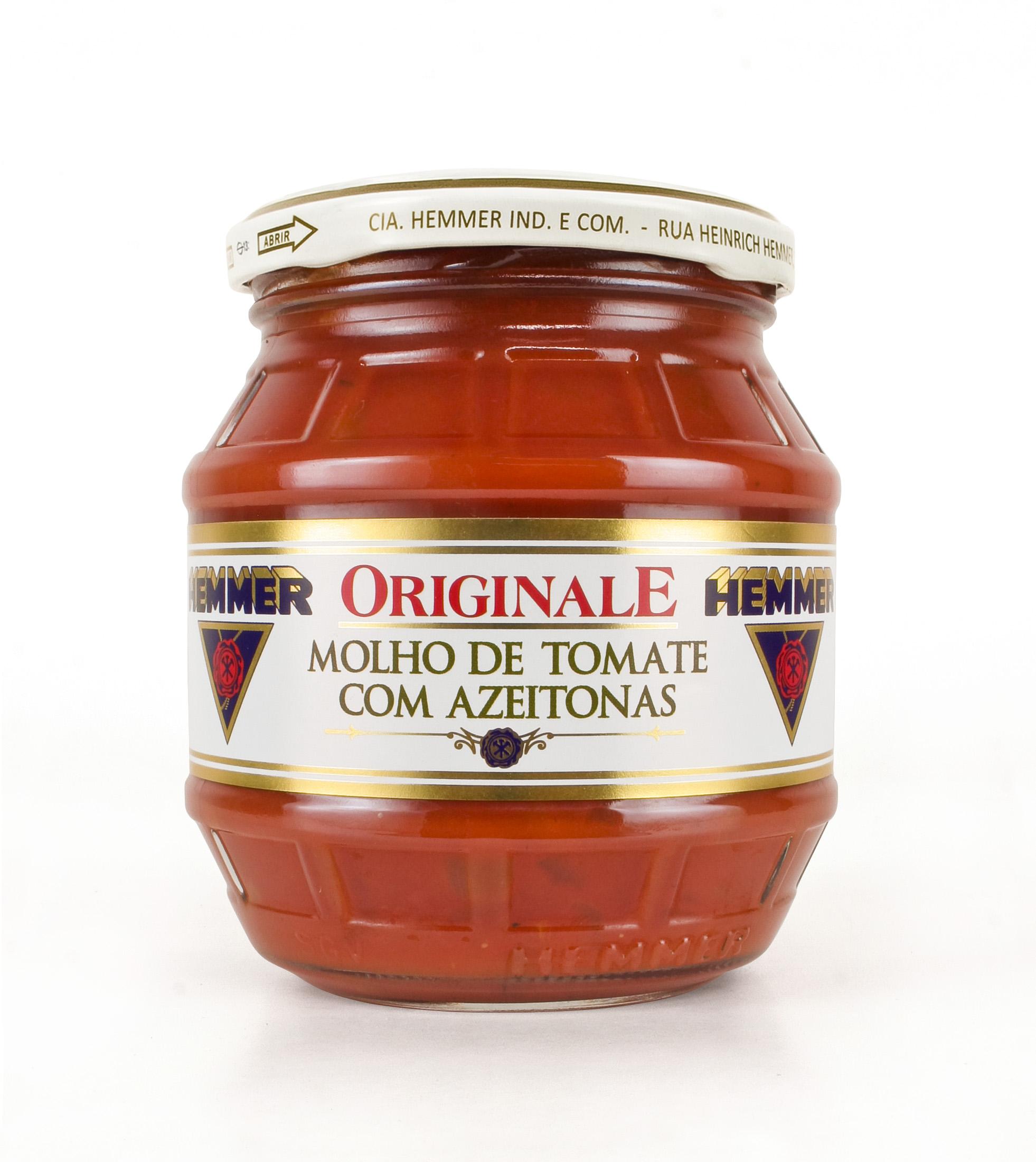 Molho de Tomate com Azeitona