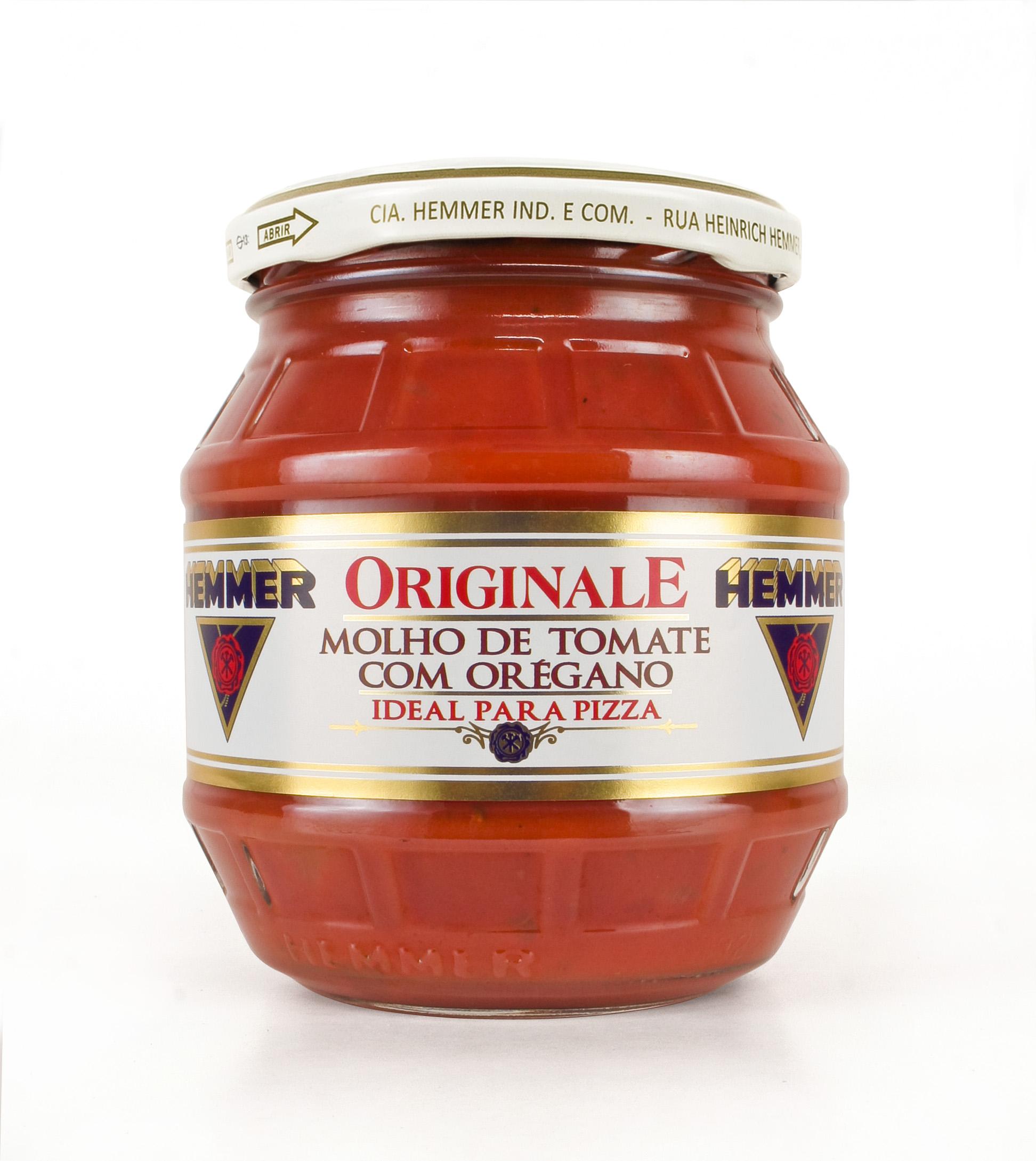Molho de Tomate com Orégano