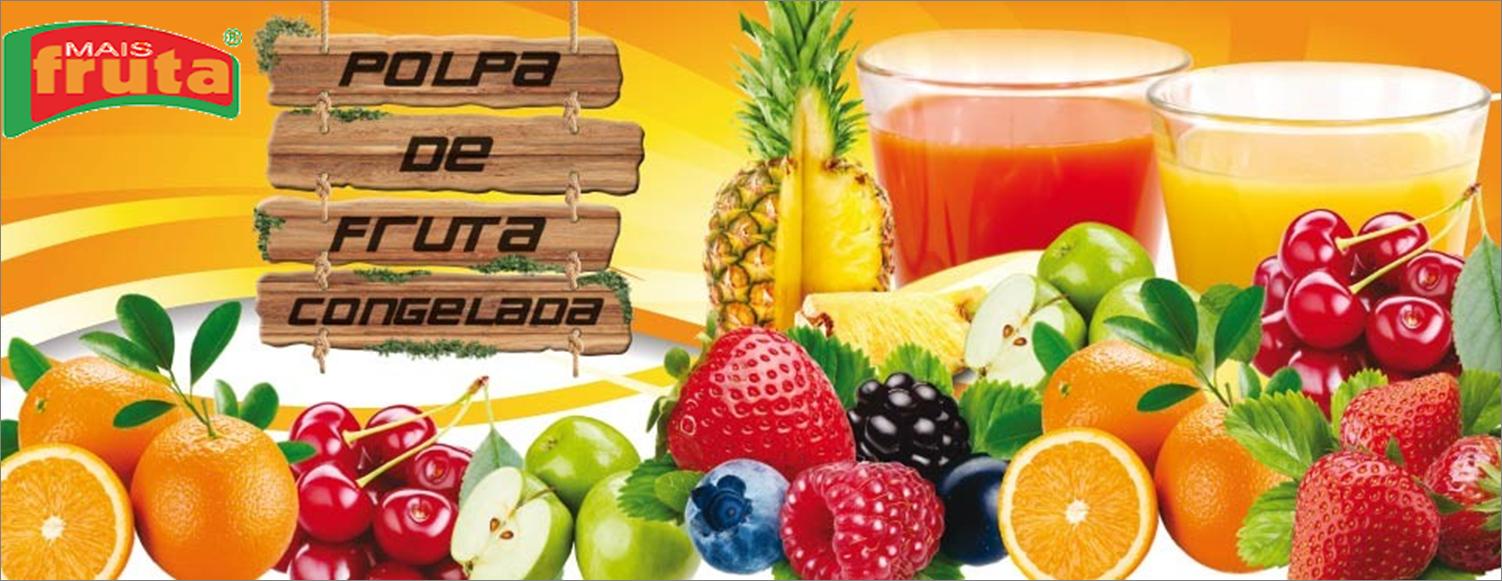 Frutas e polpas congeladas Mais Fruta