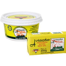 Manteiga Aviação - Tablete e Pote - Sem Sal